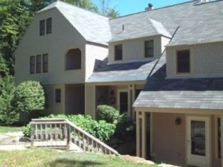 North Conway condo rental - Summer at the Townhouse