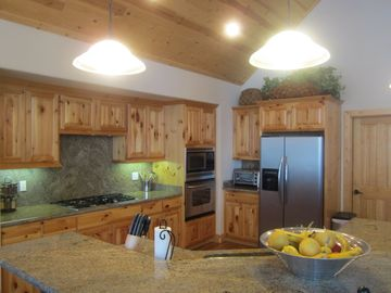 Heavenly Valley house rental - Kitchen with upgraded stainless steel appliances and all the utensils you need