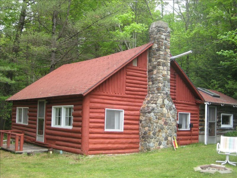 log cabin on the ausable river 2 br vacation cabin for