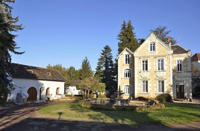 Mansion in Gourdon (Lot 46) for rent with park, terrace, pool