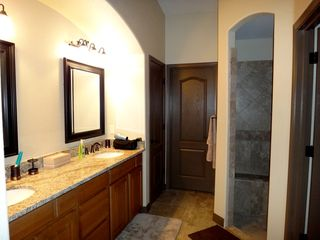 Lake Havasu City house photo - Master Bathroom with granite countertops and walk-in shower
