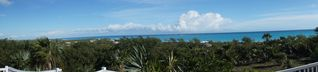 Great Exuma house photo - Deck view of the Ocean.