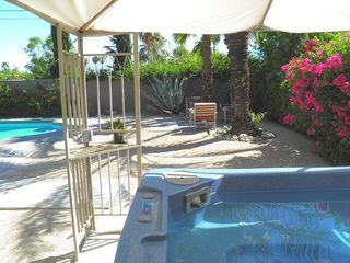 Palm Springs house photo - The Large Spa Will Melt Away All Your Stress in Your Private Enclosed Resort.