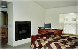 Master Bedroom w/ Fireplace, large Bathroom, TV & DVD