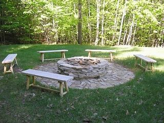 Bartlett condo photo - firepit ~awesome bonfires on wed & sats summer and fall!