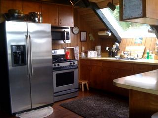 Lopez Island cabin photo - Kitchen