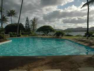 Kapaa condo photo - Heated oceanside pool