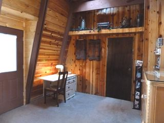 Flagstaff cabin photo - Small Desk in Master. Secure Wireless Available.