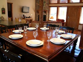 Branson lodge photo - Dining Table Opens up to Kitchen and Living Room