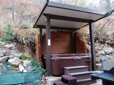 Old Town house rental - Hot tub