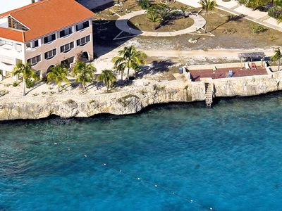 Bonaire condo rental - Breathtaking location on the Caribbean Sea with world class diving steps away!