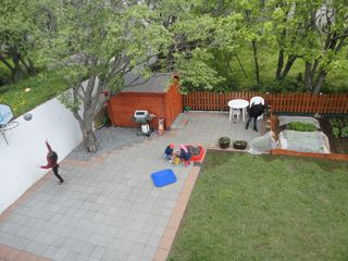 Reykjavik apartment photo - The backyard playground.