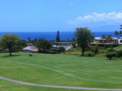 Ocean and Fairway Views from the lanai!