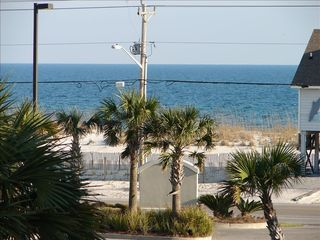 Gulf Shores townhome photo - View from the deck Ocean side