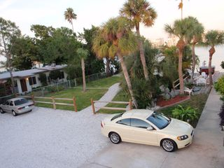 St Pete Beach house photo - There is parking for 7 vehicles and a park to enjoy. House is not pictured here.