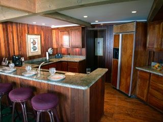 Napili estate photo - All electric Koa Wood kitchen with granite counters