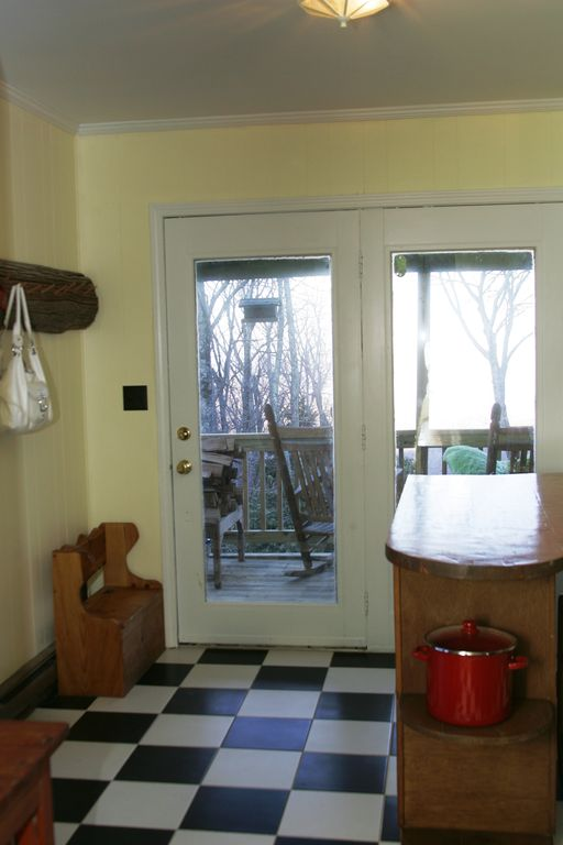Kitchen Door Leading to Deck