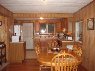 New Milford cottage photo - Dining Area and Kitchen