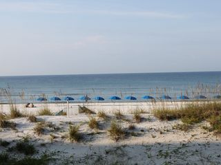 Fort Walton Beach condo photo - View of beach from balcony