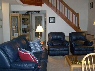 North Woodstock townhome photo - Comfortable living room with view of entrance way