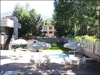 Aspen townhome photo - Hot Tub on Patio