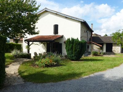 Paradise Francais - Lovely Stone Farmhouse with Private Heated Pool
