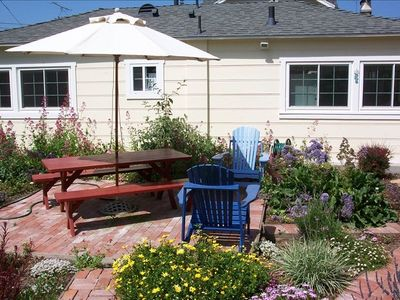 Del Mar cottage rental - Cottage Garden patio