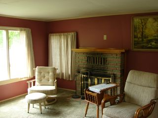 Alpena cottage photo - living room