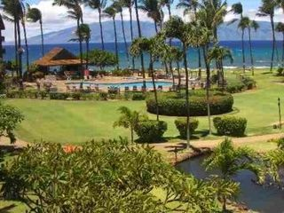 Kaanapali condo photo - Paths meander past Koi ponds, tropical foliage