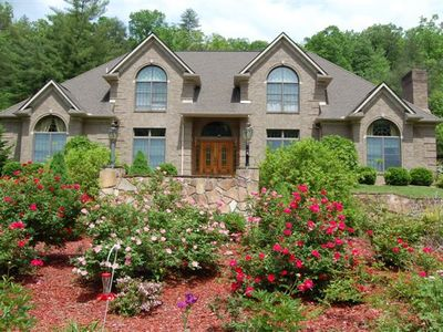Smoky Mountain Mansion in Robbinsville NC-Graham County