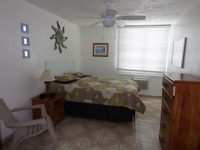 Spacious Master Bedroom with walk in closet and A/C.
