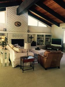 Spacious Great Room with Spacious Vaulted Ceiling