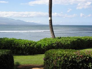 Maalaea townhome rental - Ocean as seen from the Lanai