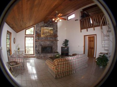 Chattanooga Vacation Rental Real Fireplace/Wood Private Pool