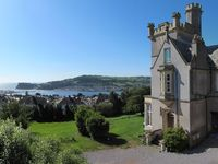 Gothic Castle with amazing views, memorable self catering holiday cottage