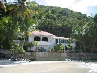 Tortola house photo - From the beach