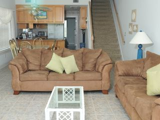 Gulf Shores house photo - Two sofas, one a recliner!