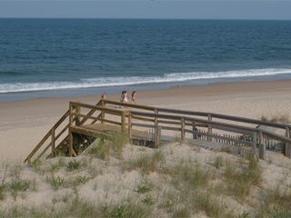 Bethany Beach house photo - view of the ocean from the property (2007)