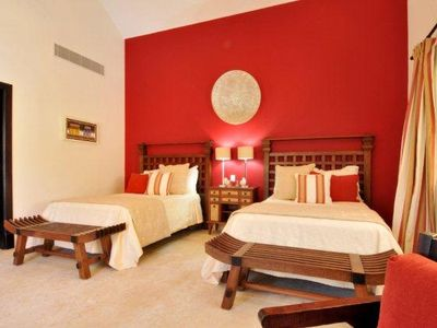 Punta Cana villa rental - 3rd room with 2 queen beds- en-suite bathroom