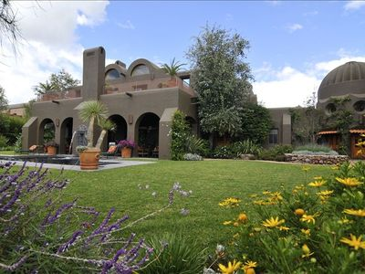 Casa Magdalena is located on a private, gated, 160 acre ranch in San Miguel