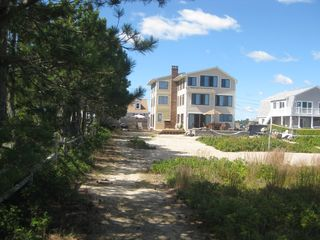 Wells townhome photo - View of house from our private beach path