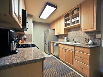 Kitchen has all upgraded stainless steel appliances
