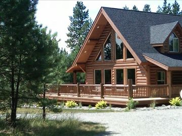 Columbia Falls house rental - Cozy, secluded cabin with all the comforts of home!