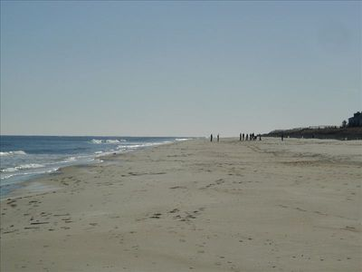 Looking south toward the seashore state park.