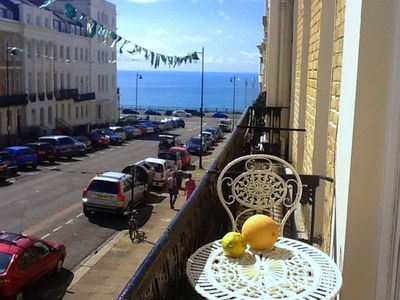 Brighton & Hove apartment rental - Glorious balcony seaviews