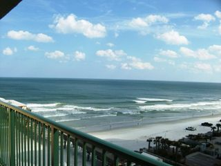Daytona Beach Shores condo photo - Views of ocean as waves beat on the shore