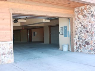 The Canyons townhome photo - Garage below unit. Operator opens main door here, then large 2-car garage within