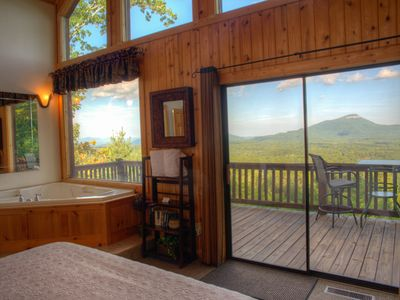 Bella Vista II Master Bedroom with incredible mountain views!