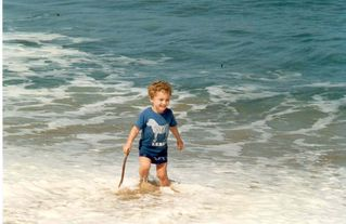 Rincon house photo - My Grandson Playing in the Water