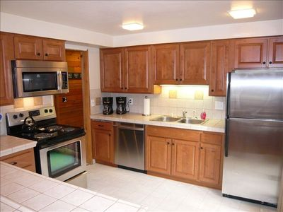 New Kitchen / All Stainless Appliances / Hickory Cabinets